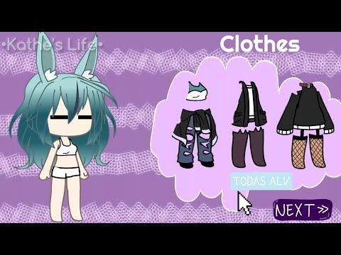 Character Creator Gacha Life K L Youtube Trajes De Personajes Poses De Amigo Disenos De Ropa Dibujos