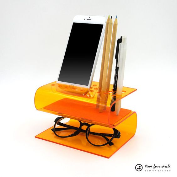 Iphone stand cell phone stand desk organizer android for Organiser un stand