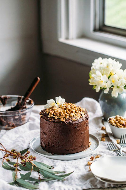 30 Beautiful Vegan Birthday Cake Recipes Eluxe Magazine Vegan Cake Recipes Vegan Nutella Nutella Cake