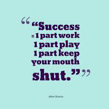 Part Keep Your Mouth Shut: