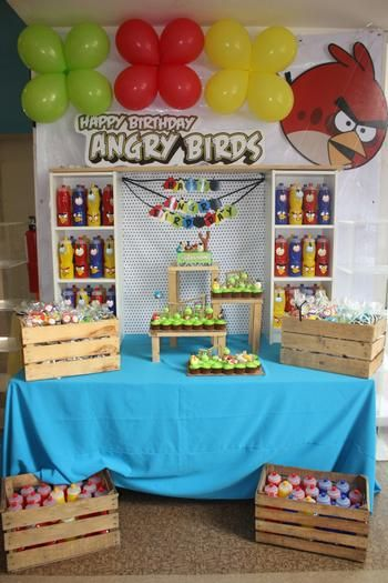 Angry Birds Party:
