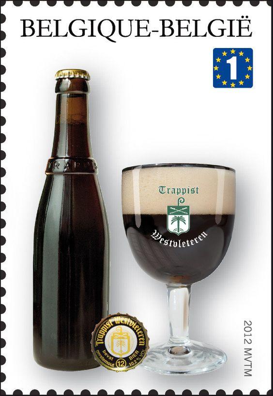Sello: Trappist Beers: Westvleteren (Bélgica) (Trappist beers) Mi:BE 4246,Bel:BE 4200