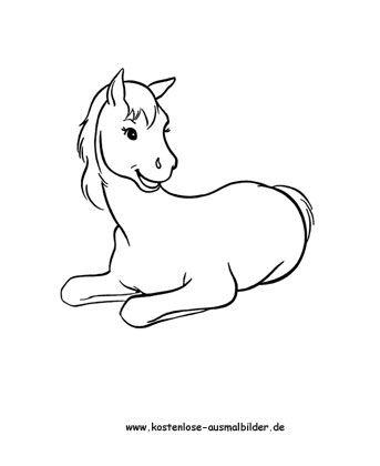 Ausmalbild Pferd 1 Kostenlos Ausdrucken Ausmalbilder Pferde Ausmalbilder Pferde Zum Ausdrucken Ausmalbilder