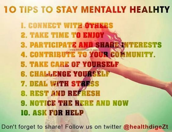 how to keep mentally healthy