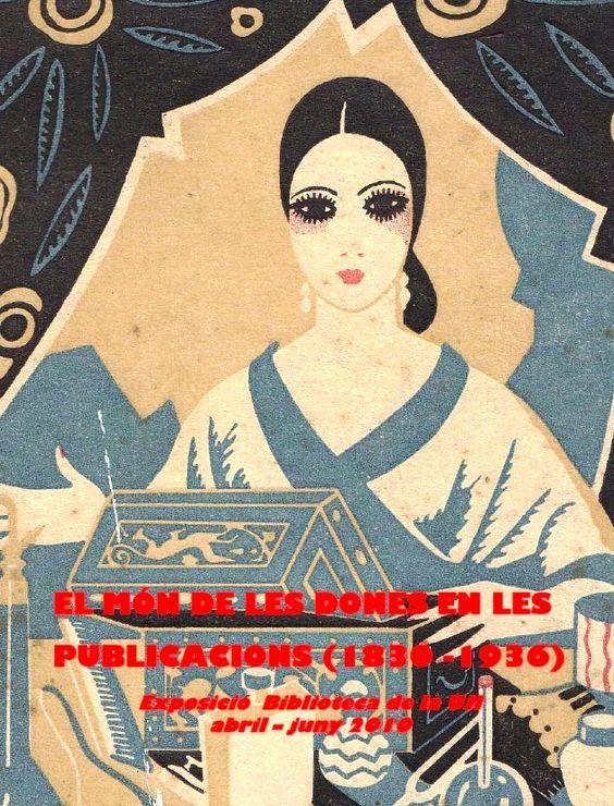 Exposición bibliográfica relacionada con el mundo de la mujer