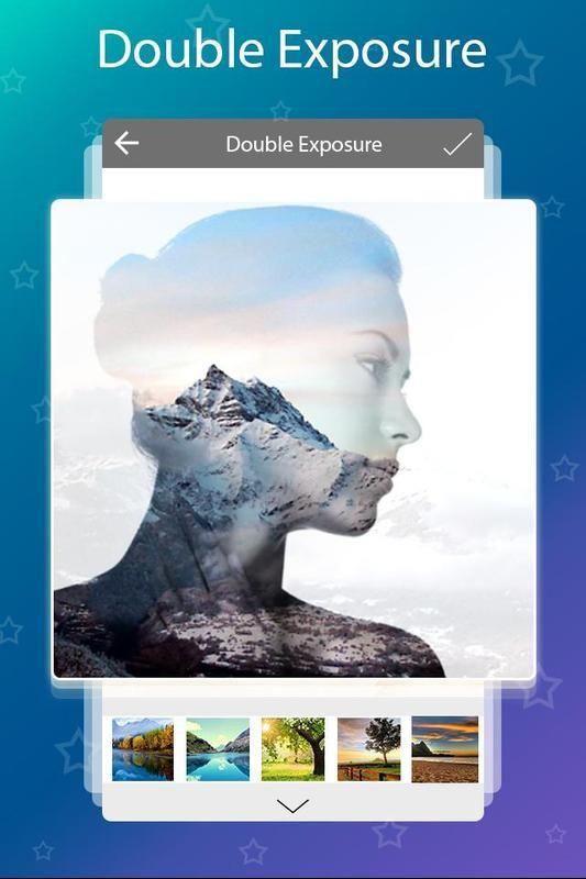Double Exposure Blending Effect Photo Editing App For Android Mobiles Double Exposure Double Exposure App Photo Editing Apps
