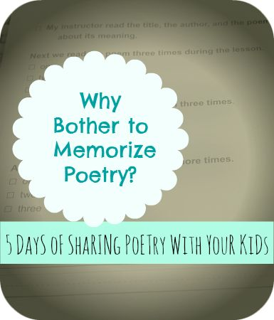 Why study poetry reasons