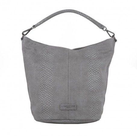 Liebeskind Tasche – Vanessa Snake Light Grey – in grau – Umhängetasche für Damen