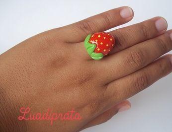 anel morango