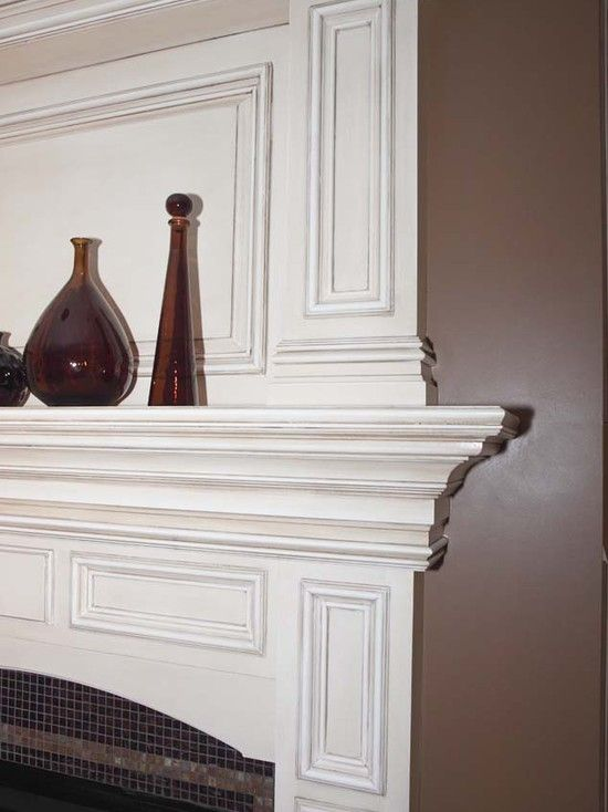 lots of fireplace molding ideas family room