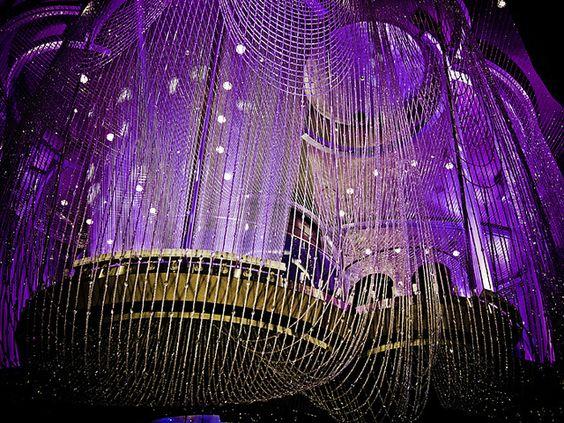 Chandelier Bar inside the Cosmopolitan Las Vegas Hotel