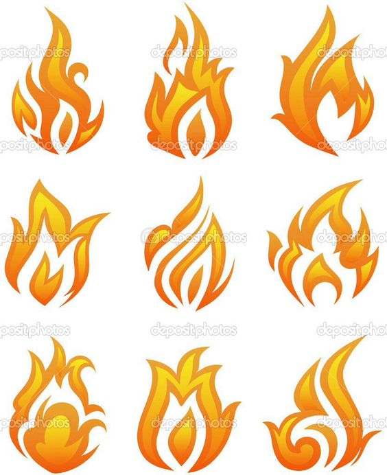 how to draw flames in illustrator