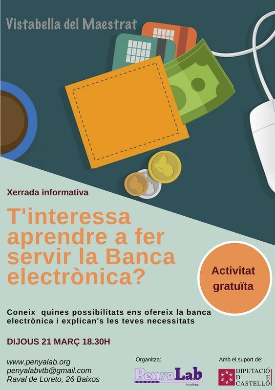 Xerrada informativa Banca electrònica
