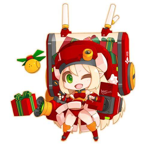 「未来型サンタさん」/「ザリョン」のイラスト [pixiv]