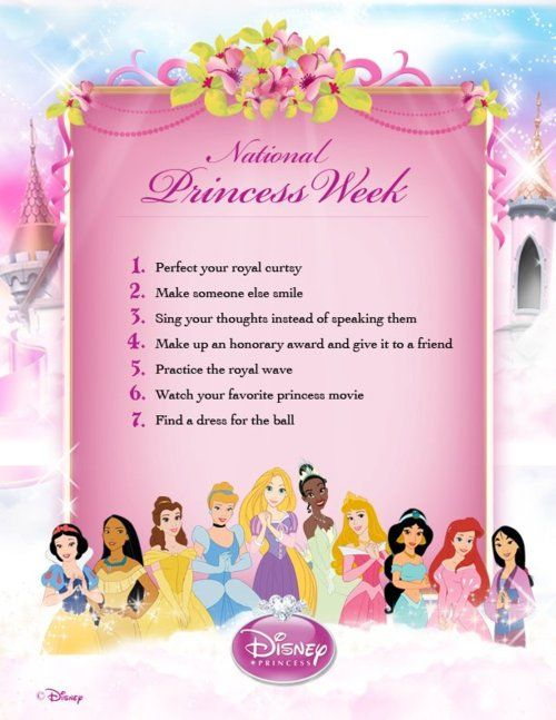 National Princess Week!