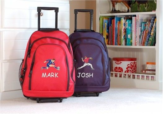 Kids Travel Zone - Kids Large Rolling Backpack, $44.99 (http://www ...