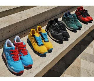 Bait x Asics Sneaker Pack Available Now