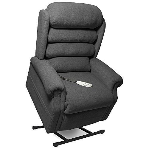 Nm 1950lt Mega Motion Power Lift Recliner Chair Charcoal