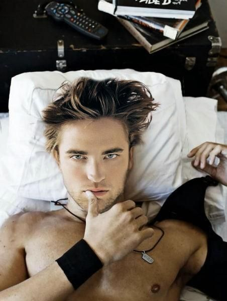 Rob Pattinson - I never got the appeal until I was forced to watch the Twilight movies..