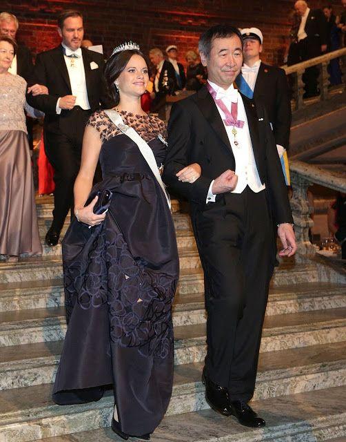 The Nobel Prize Banquet 2015 at Stockholm City Hall