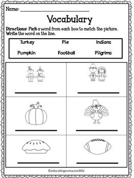 Activities, Language and Thanksgiving on Pinterest