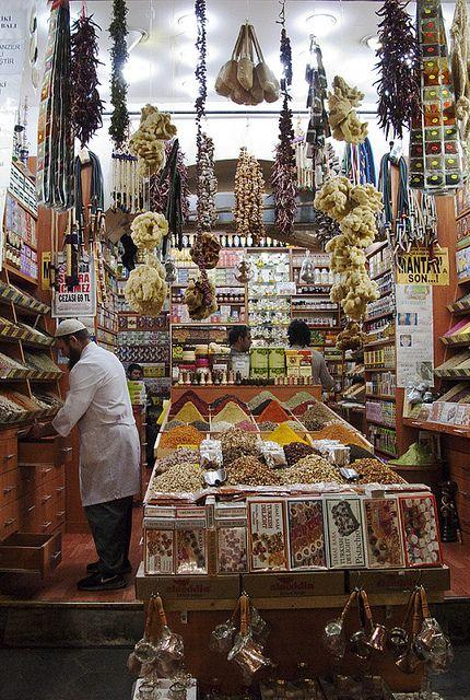 Bazar de las Especias, Estambul, Turquía
