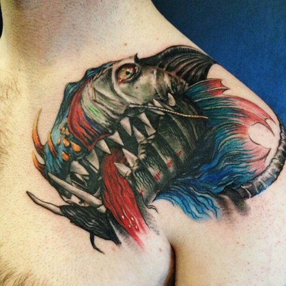 #alebrije #tattoo #mexican