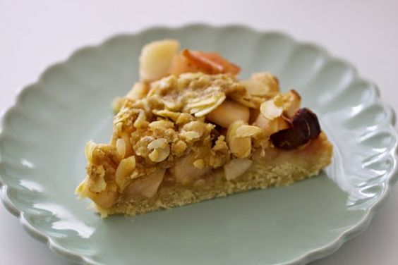 Fleurcoquet: Ich backs mir - Knusper-Apfelkuchen #ichbacksmir #apfelkuchen #apfel #apple