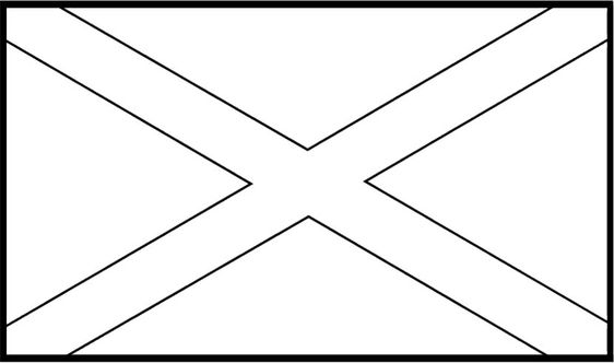 Flags of jamaica coloring page for kids passport to for Jamaica flag coloring page