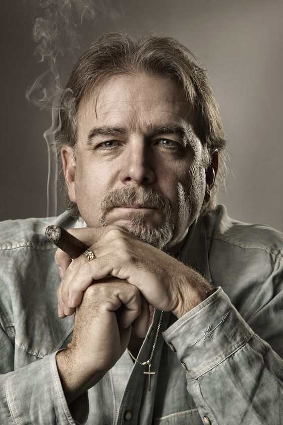 Bill Engvall portrait by Paul Mobley. I love everything about this.