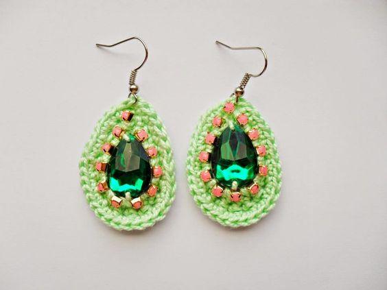 Summer Earrings | Crochet | Handmade | GYPSY