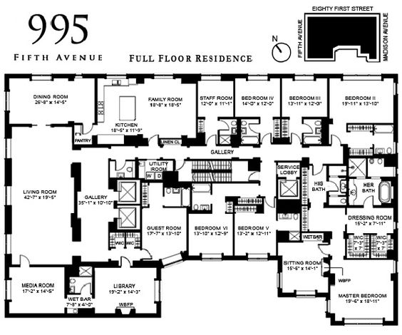 New York Apartments Plan - Buscar Con Google