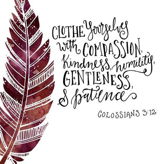 faithprayers: Colossians 3:12