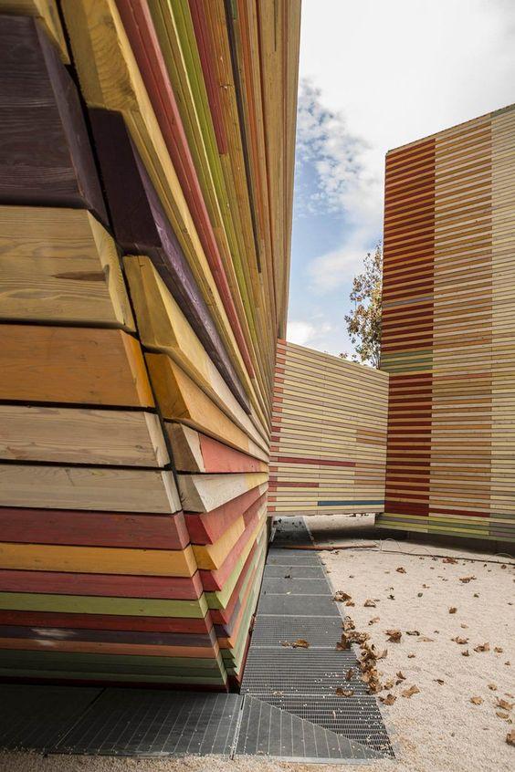 Temporary auditorium in LAquila, L'Aquila, 2012 - RPBW - Renzo Piano Building Workshop, Atelier Traldi