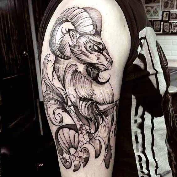 92 Awesome Best Capricorn Tattoo Designs Beauty Ideas Tatuagem Capricornio Tatuagem De Animais Tattoo Capricornio
