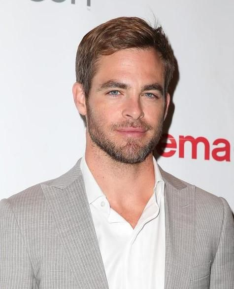 Cool Chris Pine So Good Looking With And Without Facial Hair Short Hairstyles Gunalazisus