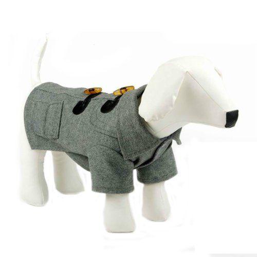 Grey Dog Duffle Coat - 5 Sizes | Albert | Pinterest | Coats Dogs