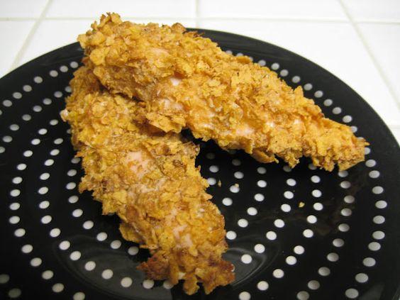Cornflake Chicken. Easy.