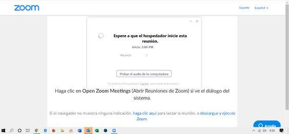 Reuniones por videoconferencia de Zoom