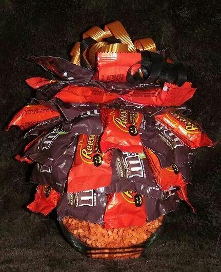 Halloween Candy Bouquet