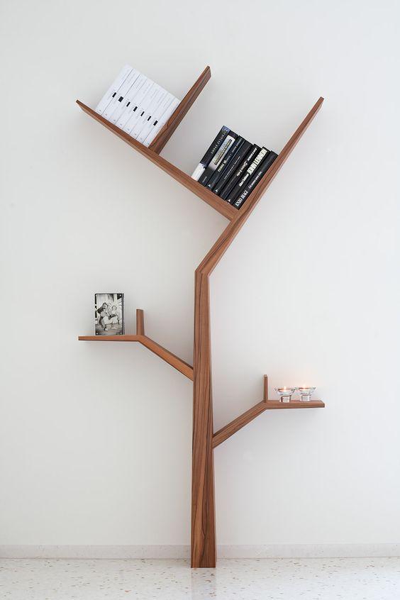 G. & F.  srl - BOOKTREE - Estante Árvore doméstica: