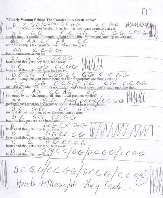 Cheeseburger in Paradise (Jimmy Buffett) Guitar Chord Chart ...