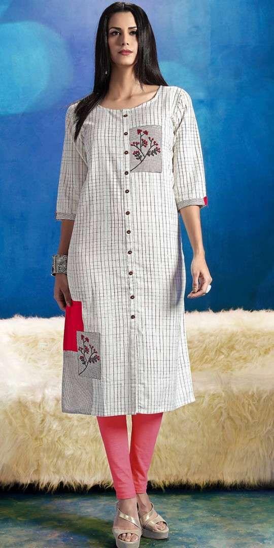 Marvelous White Khadi Cotton Kurti Kurta Kurtha Kurtas Nallu In 2020 Cotton Kurti Designs Simple Kurti Designs Kurta Designs Women,Machine Design Magazine