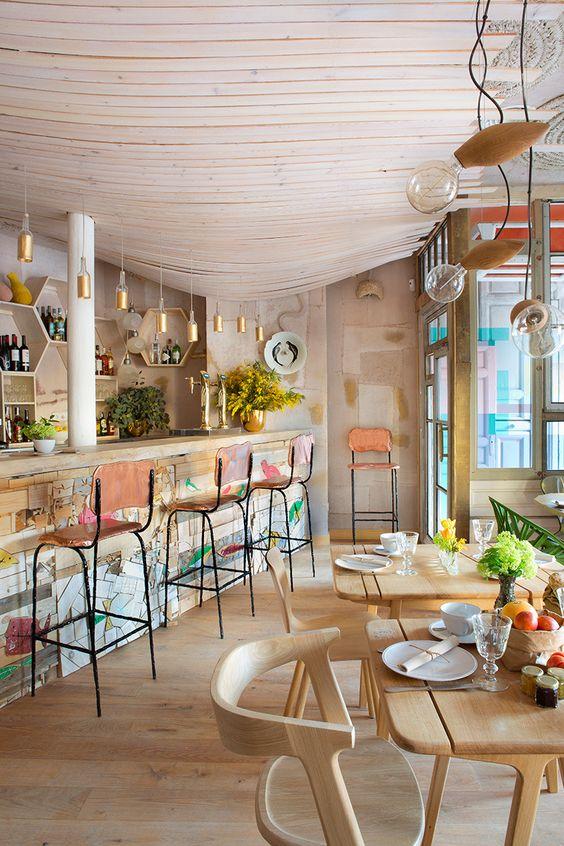 Mama Campo (restaurante+eco market, Madrid)  En la barra - AD España, © Manolo Yllera