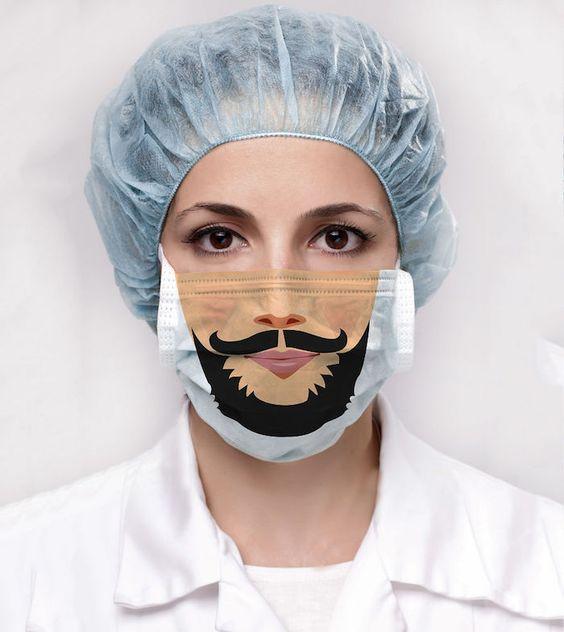 divertidas propuestas de mascarillas para hombres y pequeños, fotos de mascarillas DIY faciles de hacer en casa y otras ideas