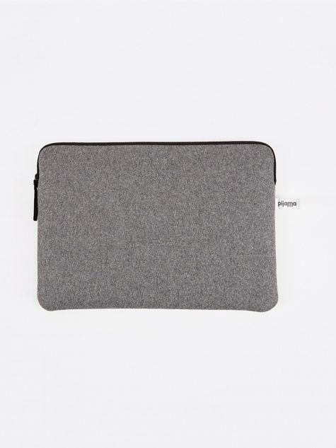 New 13 Pro New 13 Air Retina Macbook Soft Leather Case Zip Folio 13 Air 13 Pro Retina Zip Sleeve Cushioned Wool Felt Case Laptop Cover Macbook Leather Macbook Leather Sleeve