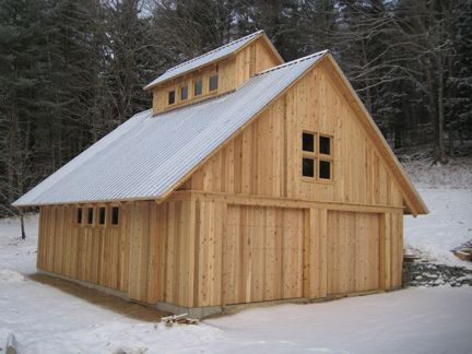 Small Barn Style Home Plans | Small Barn Designs Design | dogtrot ...