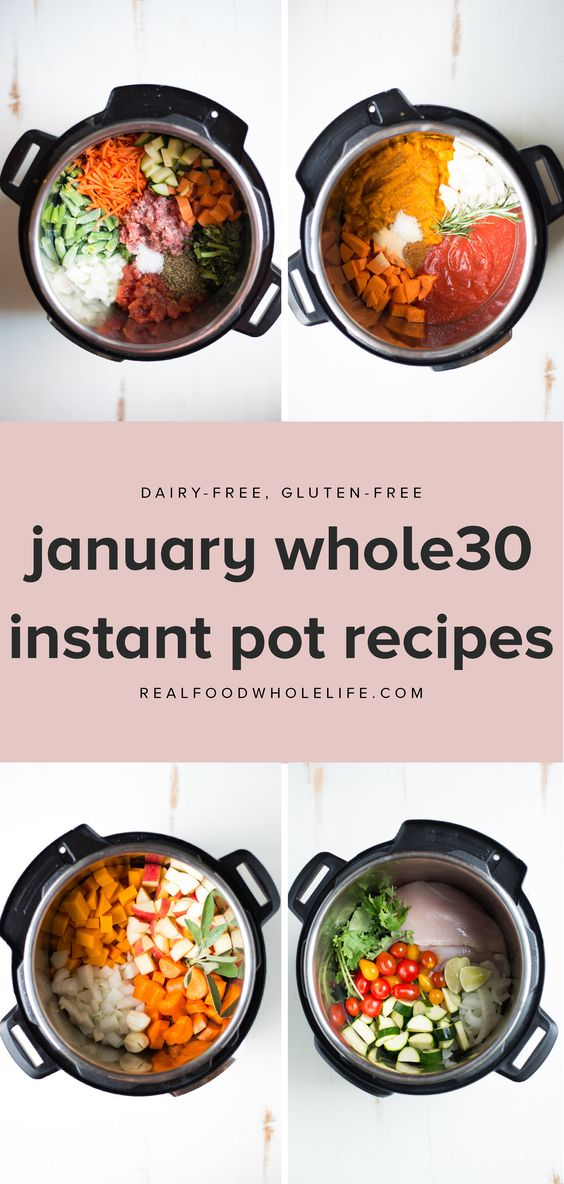 January whole30 instant pot recipes