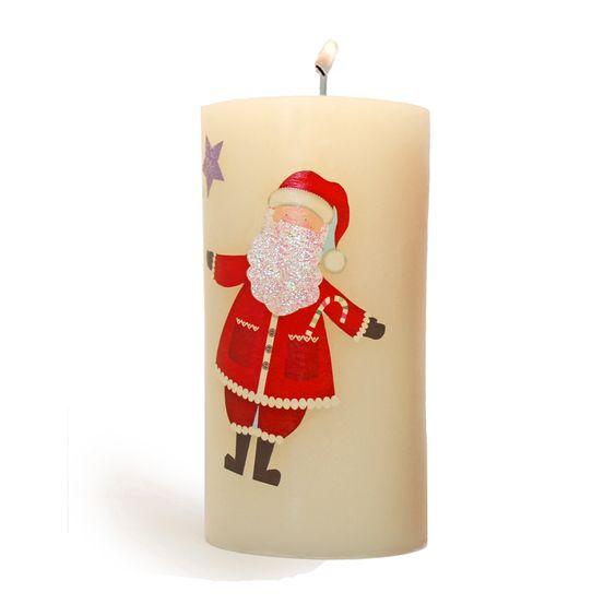 Hacer velas decoupage de navidad a todo el mundo le gusta la navidad y muchas veces no nos - Cosas de navidad para hacer en casa ...