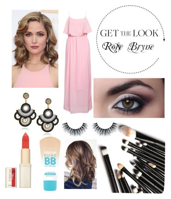 """""""Get the Rose Bryne look"""" by jxydewoodley ❤ liked on Polyvore featuring Rut&Circle, L'Oréal Paris and Maybelline"""